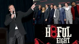 Quentin Tarantino Shrieks, Preaches WWE Intros for 'Hateful Eight' Cast