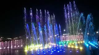 Самый красивый музыкальный фонтан в Украине