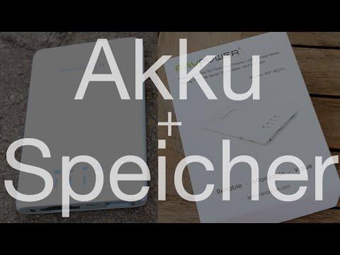 externer Akku & Speicher fürs iPhone - RAVPower Filehub