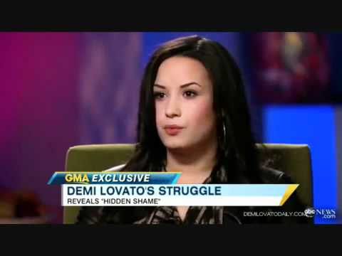 Demi Lovato Talks About Cutting Herself Mp3