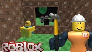 Строим чтобы ВЫЖИТЬ Роблокс Нападение злых монстров мультик игра Build to Survive Monsters ROBLOX