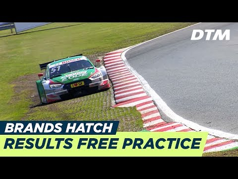 Results & Highlights Free Practice 1+2 - DTM Brands Hatch 2018
