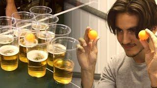 Beer Pong Trick Shots | Peter Bamforth