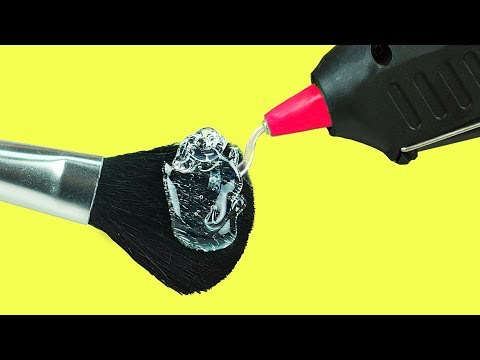 12 Hot Glue Gun Life Hacks For Crafting (видео)