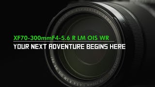 YouTube Video RVre5PamAkI for Product Fujifilm XF70-300mmF4-5.6 R LM OIS WR Lens by Company Fujifilm in Industry Lenses