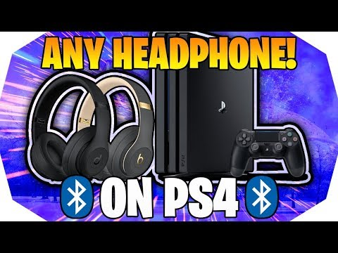 How to Connect ANY Bluetooth Headset To PS4 🎧 How To Connect Bluetooth Headphones to PS4