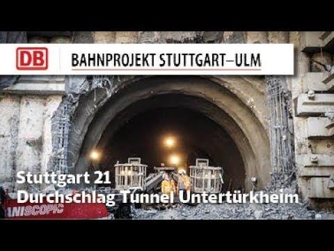 Durchschlag Tunnel Untertürkheim