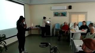 שיר גבעת הזיתים בביצוע של אורה אמזל במועדון 60+ ב-2020(1 סרטונים)
