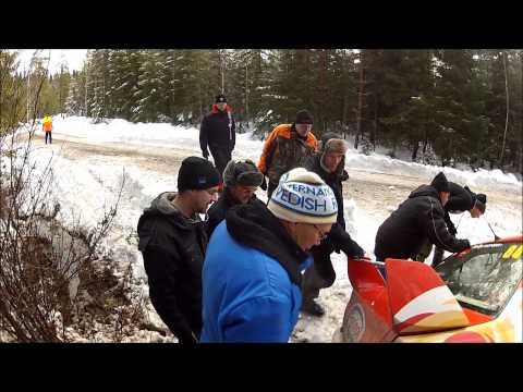 Rally Sweden 2014 Gandzha/Potiiko Crash