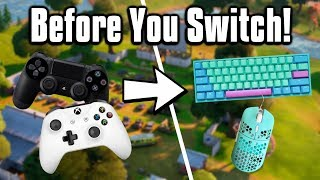 Watch This Video BEFORE Switching To Mouse & Keyboard! - Fortnite Battle Royale