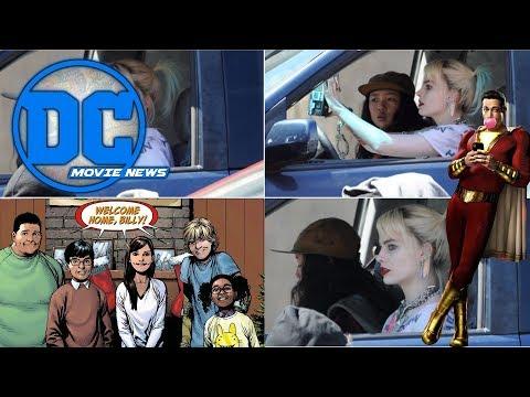 DC Movie News: Shazam sequel talk! Birds of Prey in action and Lucifer on Netflix!