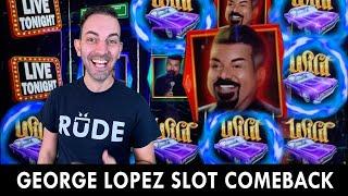 🎤 The NEW George Lopez Slot Machine 🎰 San Manuel Casino