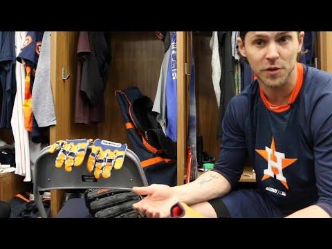 Locker Tour: Josh Reddick, Houston Astros