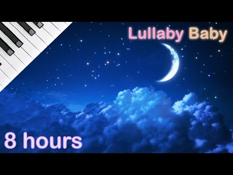 ☆ 8 HOURS ☆ Lullaby for babies to go to sleep ♫ PIANO Medley ♫ Baby Lullaby Songs Go To Sleep