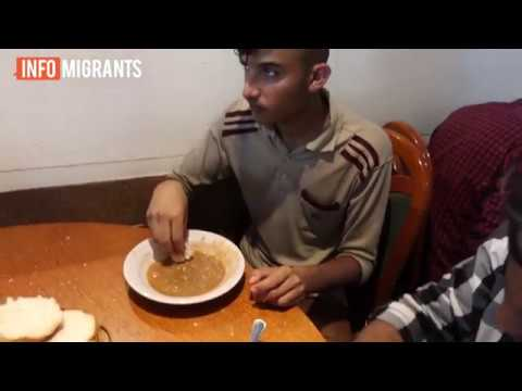 "About 500 migrants and refugees come to eat at ""Teferic"" pizzeria every day"