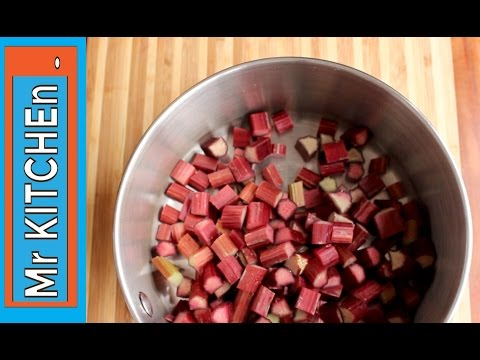 Video HOW TO STEW RHUBARB - a simple recipe