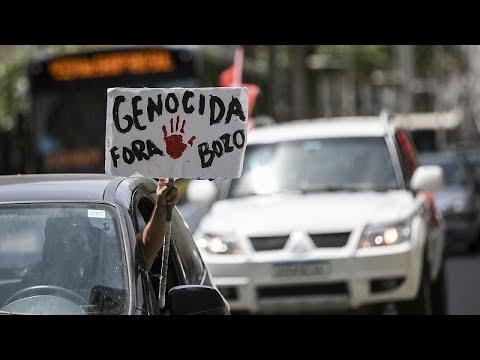 Βραζιλία: Διαδηλώσεις κατά του Μπολσονάρο
