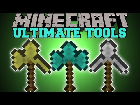 Minecraft : ULTIMATE TOOLS (COMBINE TOOLS BOWS AND SWORDS!) Mod Showcase