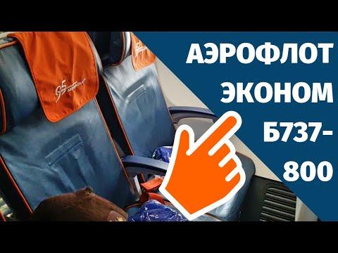 Аэрофлот Эконом Класс Боинг 737-800, Москва (SVO) - Париж (CDG), SU2462