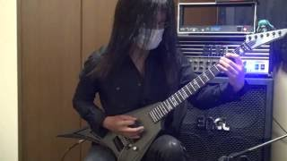 Children Of Bodom - Red Light In My Eyes Pt2 guitar cover