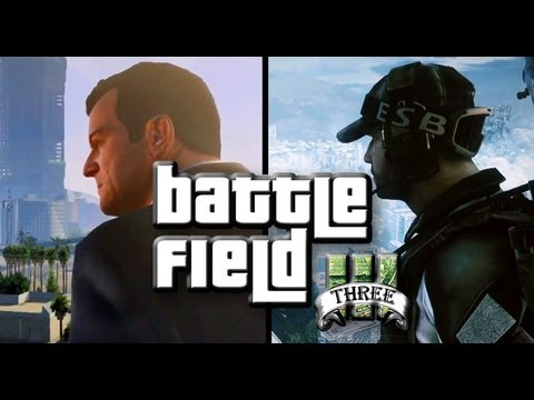 Sure, Why Not, Let's Recreate The Grand Theft Auto V Trailer Inside Battlefield 3