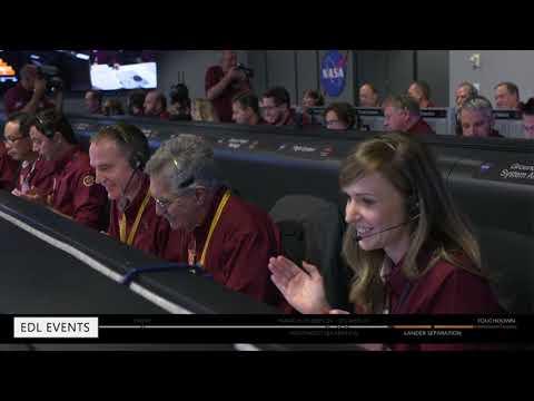 NASA's InSight probe lands successfully on Mars