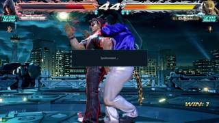 TEKKEN 7 1st Rage Quit,banned this player jin