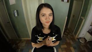 Смотреть онлайн Азиатка сняла АСМР ролик шепотом (360°)