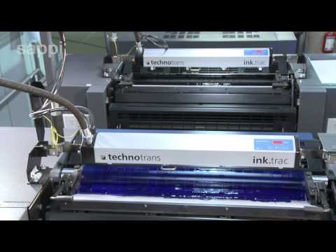 The Printing Process - Sheet Offset Press