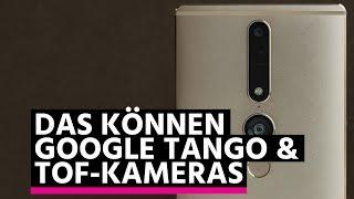 Project Tango: So funktioniert die ToF-Kamera im Phab 2 Pro