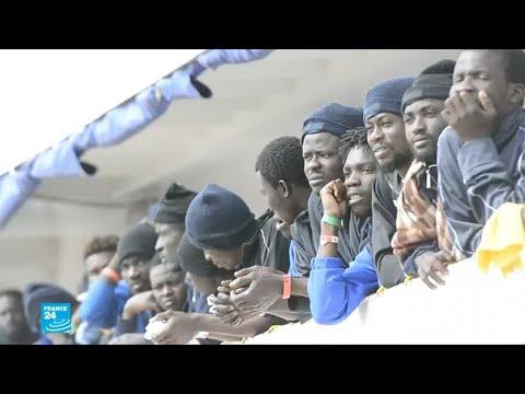 العرب اليوم - إنقاذ مئات المهاجرين غير الشرعيين في البحر المتوسط