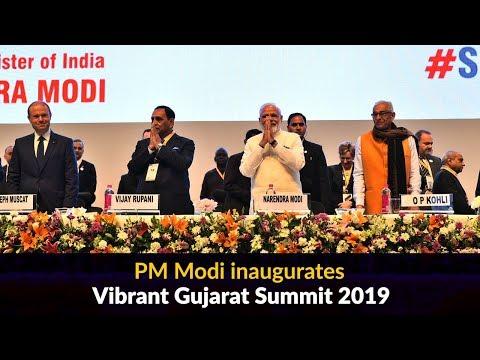 PM Modi inaugurates Vibrant Gujarat Summit -2019