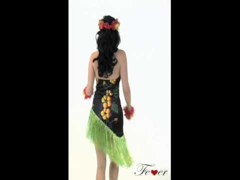 Disfraz de hawaiana luau para mujer