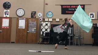 Color Guard Captain Routine