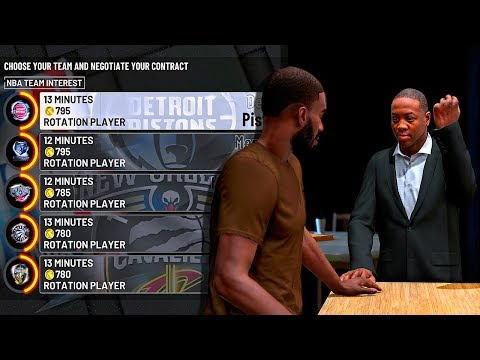 NBA 2K19 MyCAREER - Creation Of The BEST MyPlayer EVER