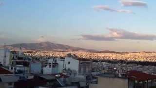 preview picture of video 'Attiki basin, Attiki region, View close to mountain Egaleo'