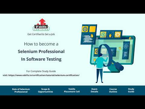 How to become a Selenium Software Tester - YouTube