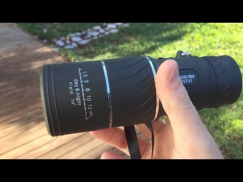 ARCHEER 16×52 Monocular Review and Unboxing