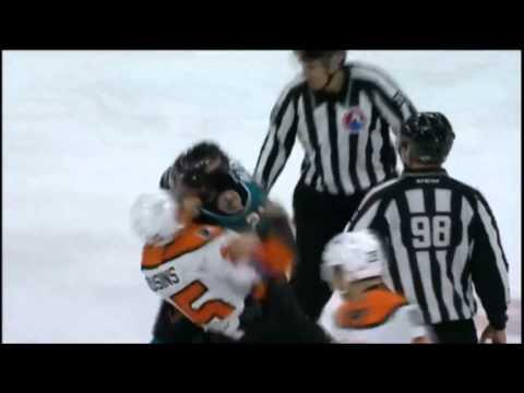 Nick Cousins vs. Travis Oleksuk