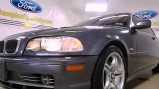 Used 2003 BMW 330CI TX