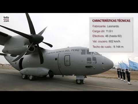 Conozca el avión C-27J Spartan de la Fuerza Aérea del Perú