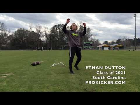 Ethan Dutton, Kicker, Class of 2021, South Carolina
