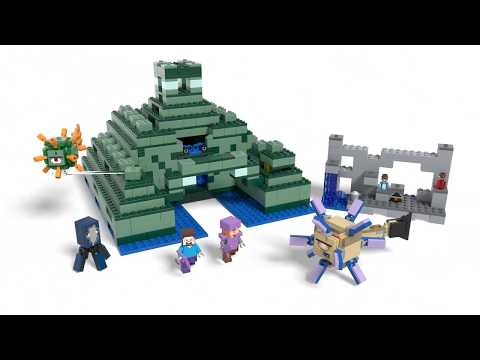 Конструктор Подводная крепость - LEGO MINECRAFT - фото № 11