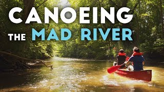 Canoeing The Mad River In Ohio 4K