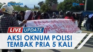 Warga Luwu Utara Demo Tuntut Kapolres Dicopot, Geram Pelaku Penganiayaan Ditembak hingga 5 Kali