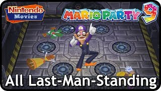 Mario Party 9 - All Last-Man-Standing Mini-Games (2 Players, Master Difficulty)