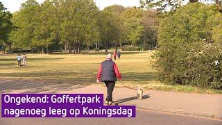 Ongekend: Goffertpark nagenoeg leeg op Koningsdag