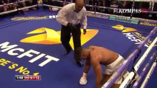 Anthony Joshua Menang TKO atas Wladimir Klitschko