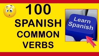 Spanish Vocabulary Lesson: 100 Spanish Verbs With a Phrase. Learn Spanish with Pablo.