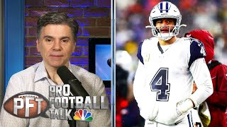 Length Of Contract An Issue For Dak Prescott, Cowboys | Pro Football Talk | NBC Sports